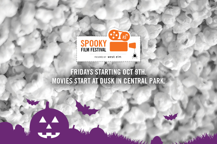 Spooky Film Festival branding.