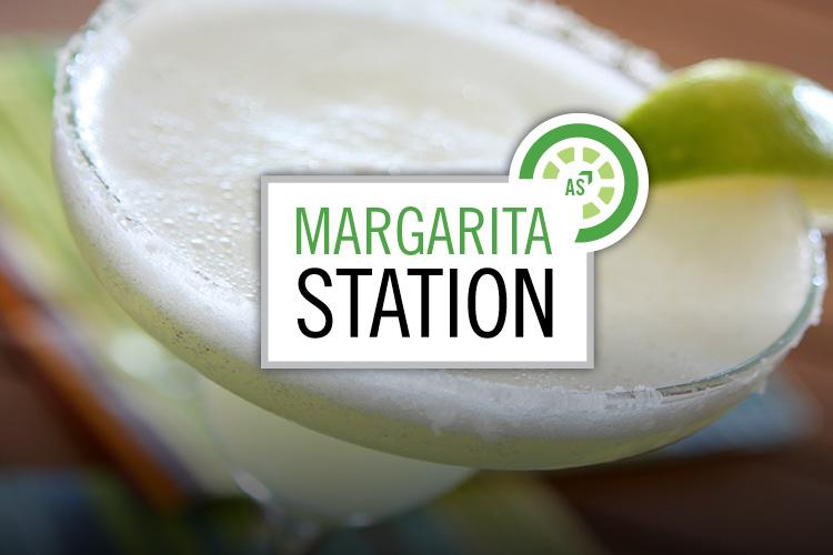 Margarita Station branding.
