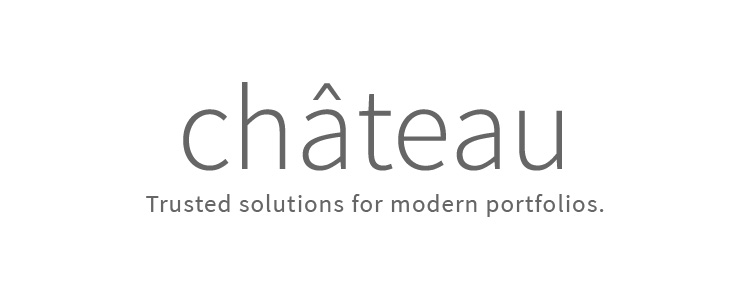 This new company serves the needs of institutional asset owners and allocators with diverse, multi-asset class portfolios. The name needed to communicate trustworthiness and contemporary know-how. We named the company Château. Château makes an elite impression, and castles are buildings that protected royal wealth. The accent mark is also an upwards pointing arrow, naturally adding movement to the word. The name is also playful, giving it a contemporary feel.After naming the company, we designed the logo, brand one sheet, and a PowerPoint template.