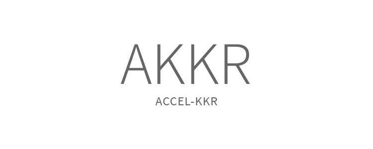 "Accel-KKR had grown to a point that they could stand alone without either Accel or KKR. Casually, the shorthand AKKR had become the norm when referring to the company. We decided that moving ahead with AKKR as the name of the company during the rebranding made sense, as well as keeping ""ACCEL-KKR"" as a graphic element of the logo to ensures the new name keeps the brand equity of the well known companies. After the new naming and logo design, we developed the brand guidelines and a one sheet."