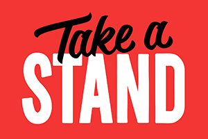 Take a Stand Social Media Campaign