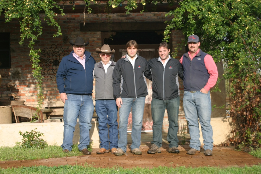 We were happy to host Augusto and Claudio from  Semex  Argentina at the ranch today! Thank you for taking the time to stop by and evaluate our cattle. Semex purchased one of our  222S3  x Texas Star bull calves at Suhn Cattle Company in March. We look forward to working with you in the future!