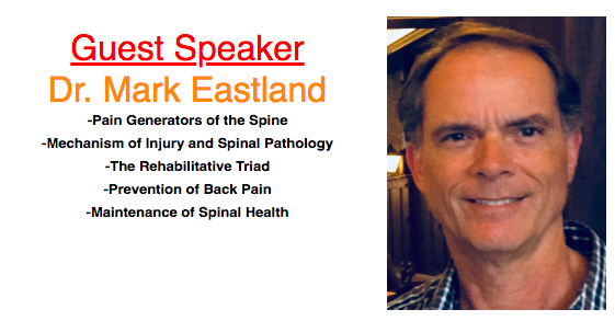Dr. Mark Eastland is a graduate of Palmer West Chiropractic College. He is also a certified athletic trainer and did his undergraduate studies at Santa Clara University and the University of Iowa. He served as the chiropractor for the San Francisco 49ers from 1990-2005 as well as for Santa Clara University Athletics and Los Gatos high school. He specializes in musculoskeletal rehabilitation including back school education, neutral spine instruction and core stabilization training.