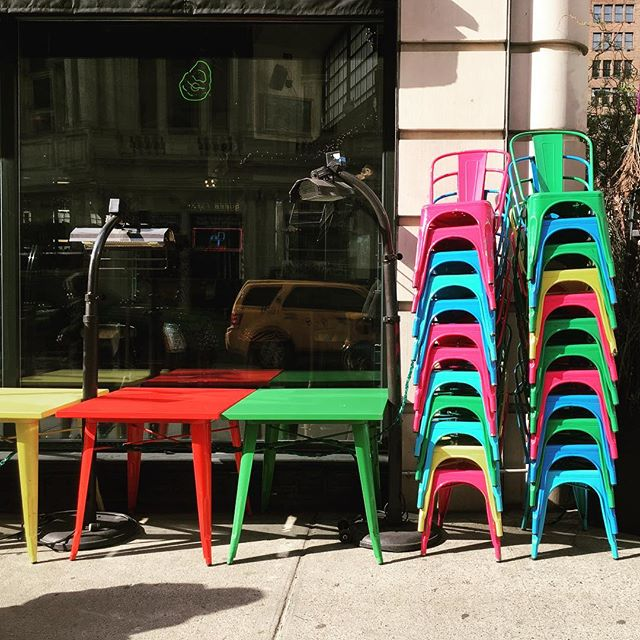 Colorful corners. #newyork