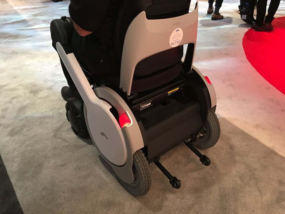 Self driving wheelchair