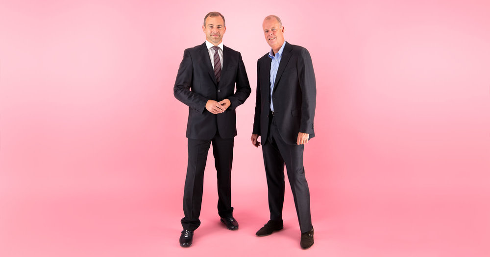 Joerg Siemes, Director for Professional Imaging Sales and B2B Business Development at Canon Europe and Maurits Teunissen, CEO at StyleShoots.
