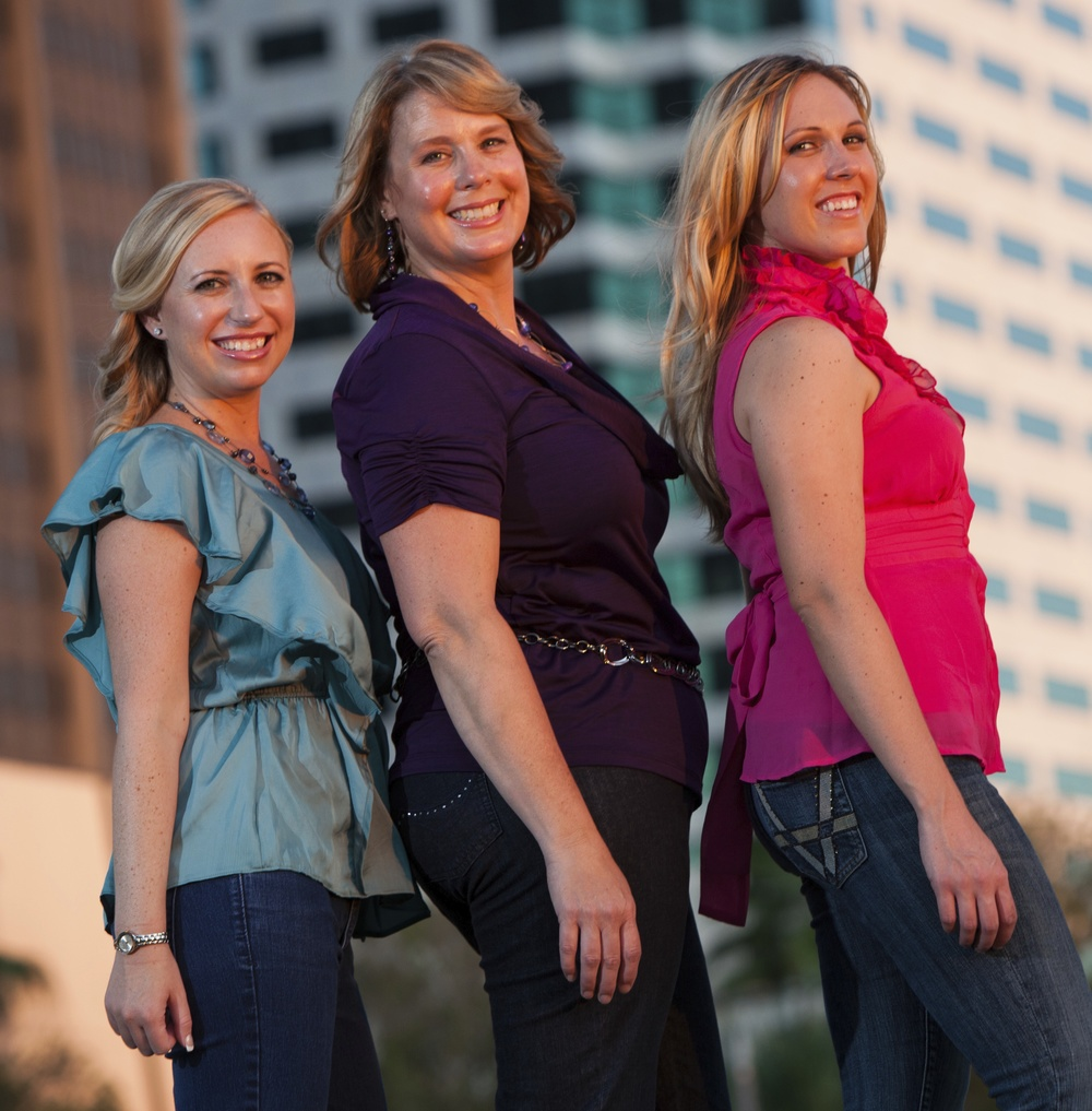 Our three lead Event Planners - Shawna Berger, Beth Carrick, & Kelly Brennan.