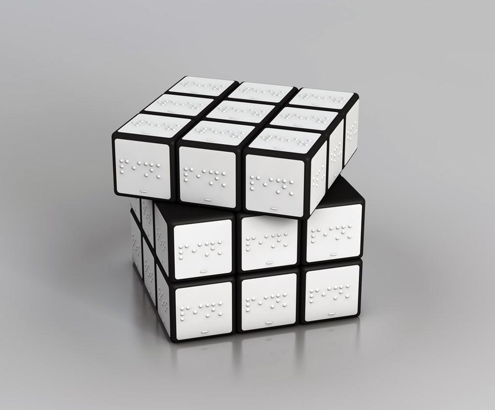 Konstantin Datz-Rubik's Cube for the Blind