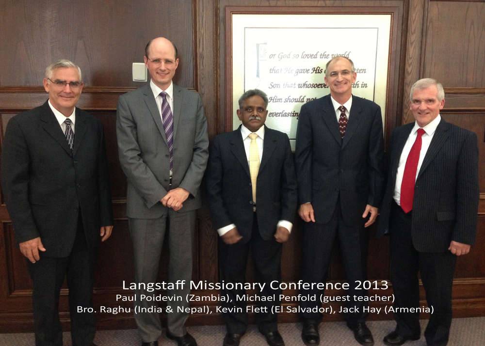 Missionary Conference 2013