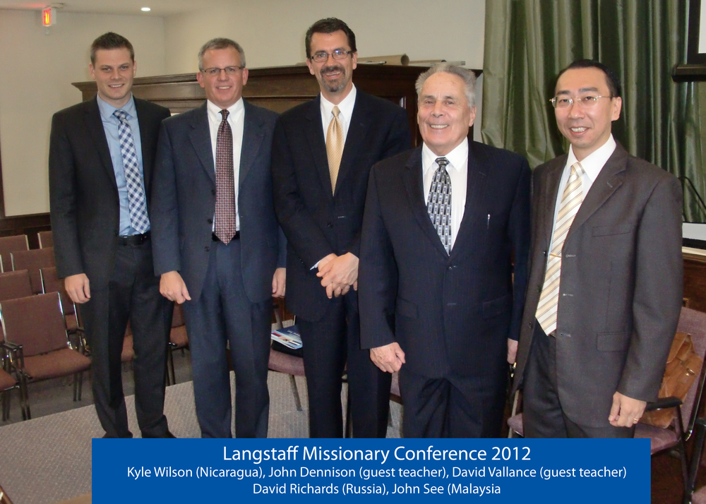 Missionary Conference 2012