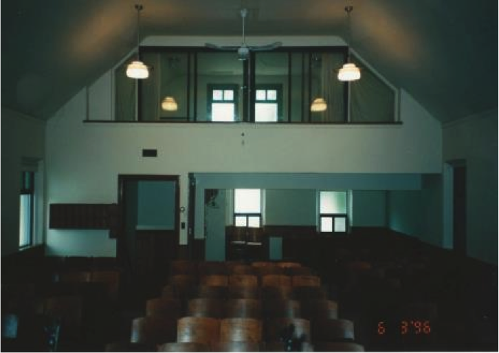 Interior of Bracondale