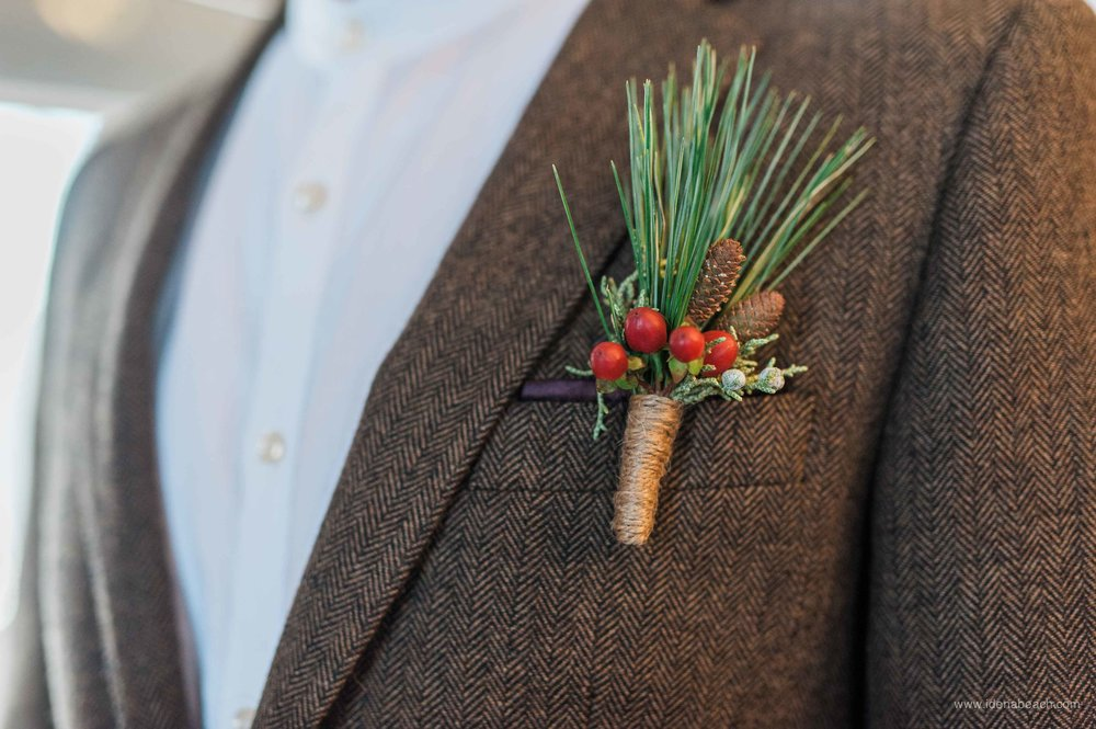 Vermont Winter Wedding Style
