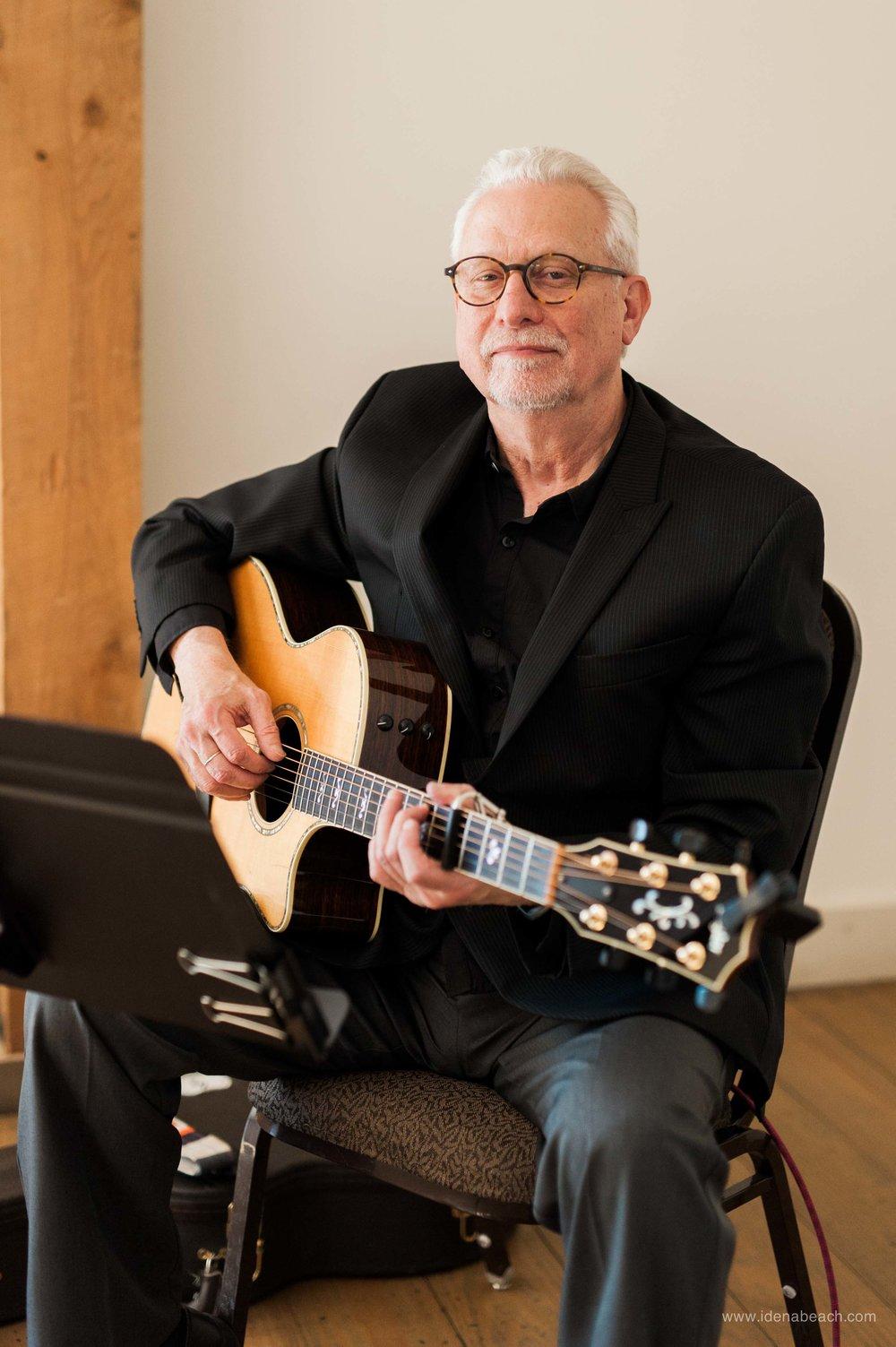 Guitarist  Dayve Huckett