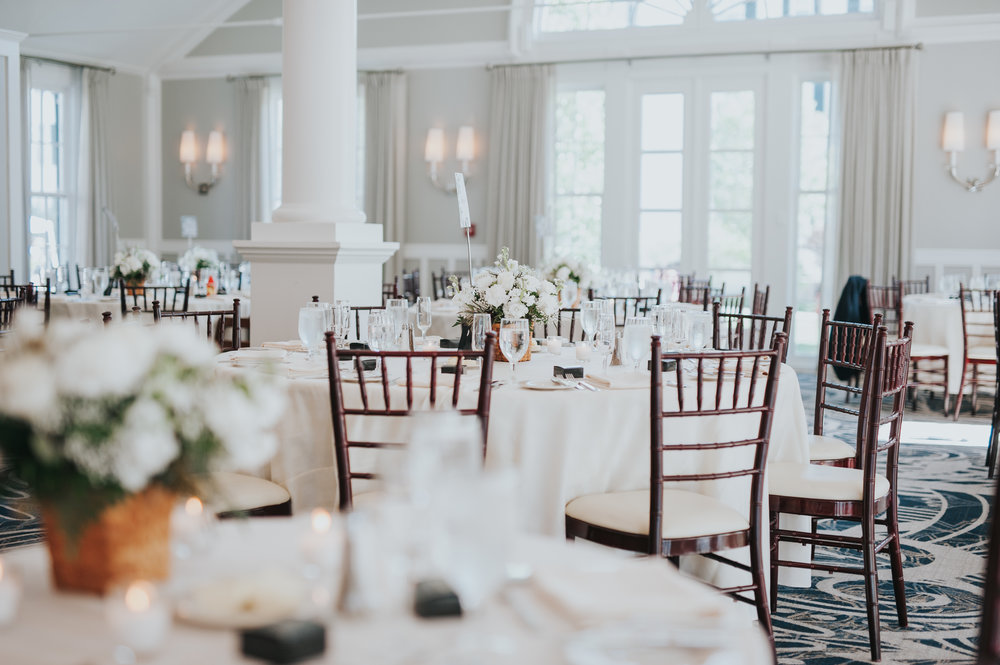 The Colonnade Room at the Equinox Resort and Spa | Vermont Wedding Photographers