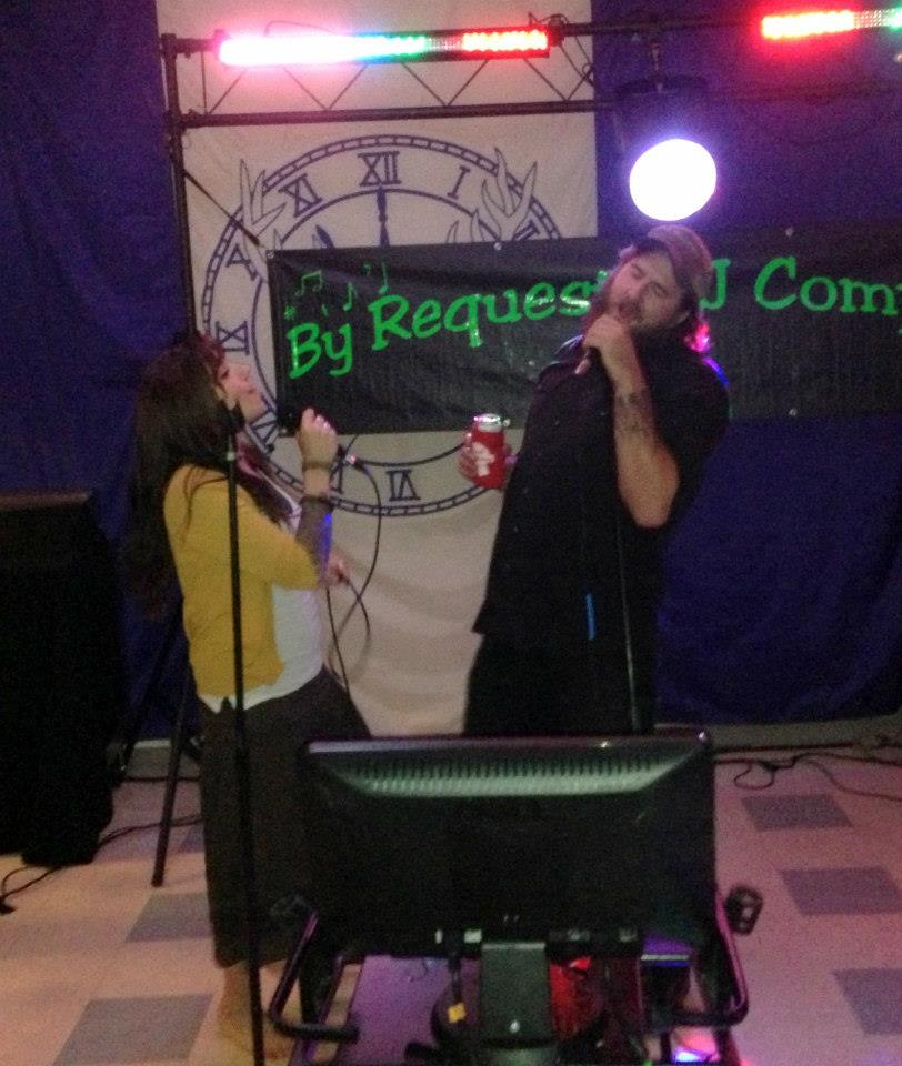 Elks Karaoke night - Cody and Natasha Dutch