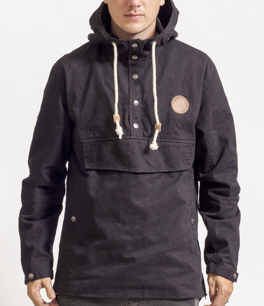 the Heritage Anorak Jacket in Black $99.99 - SHOP NOW