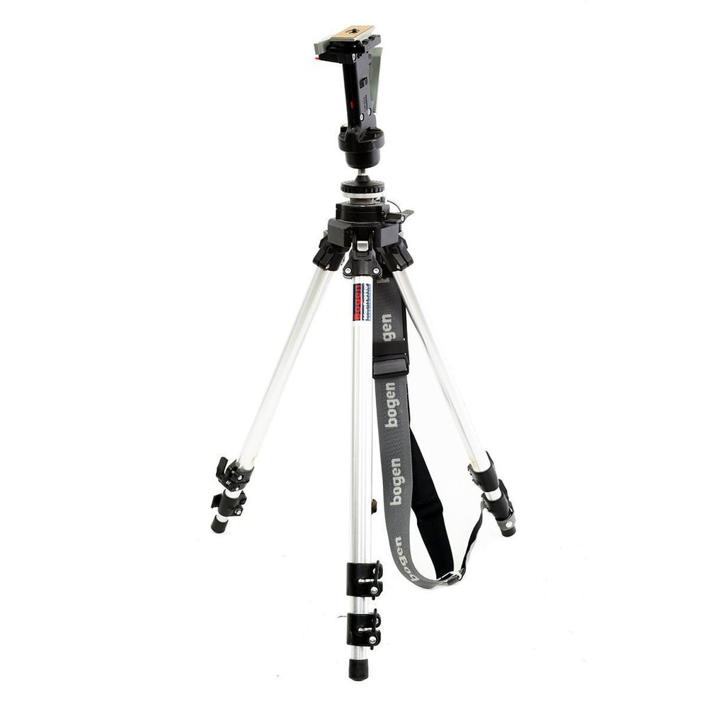 Manfrotto-3021-tripod-3265-head