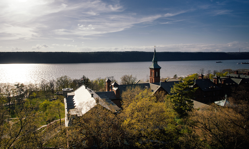 college of mount saint vincent overlooking the hudson river - 20 minutes from midtown manhattan