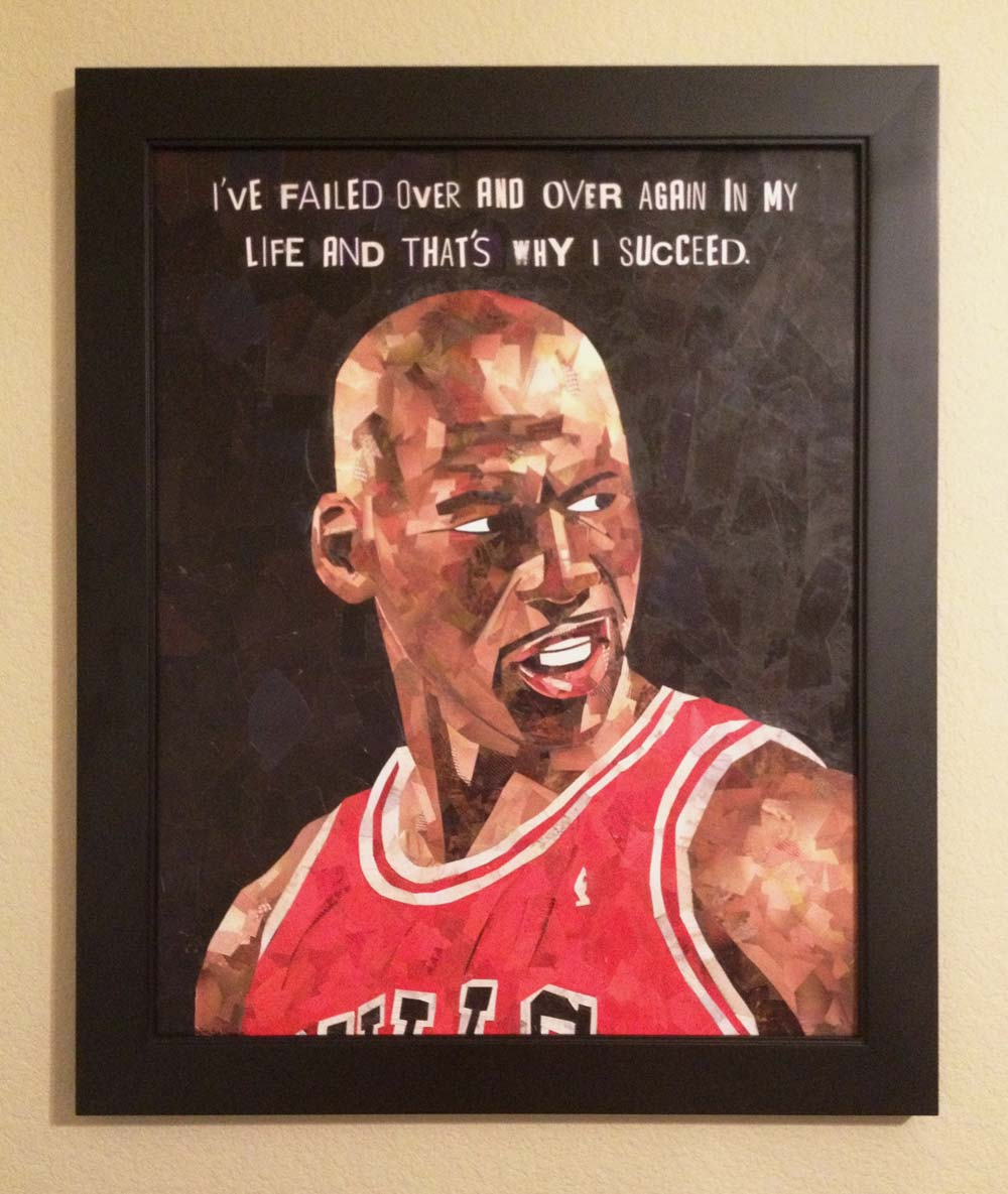 Michael Jordan Collage