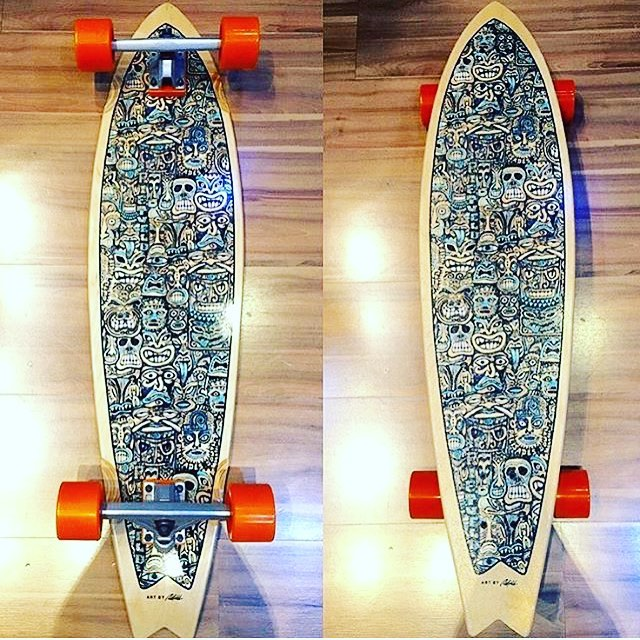 Palisades False Idols Model complete. Repost from @tapeurban. To find out more of our current lineup please visit palisadeslongboards.com #palisadeslongboards
