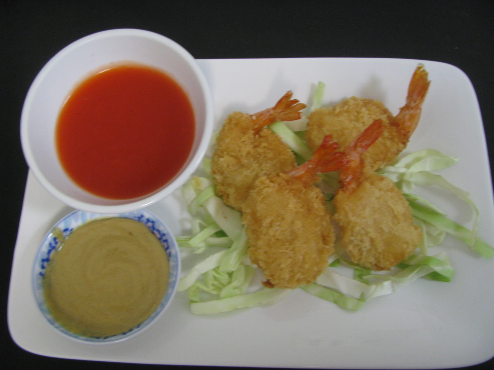 BUTTERFLY FRIED SHRIMP $4.25 (4) PIECE    OR     $7.99 (8) PIECE