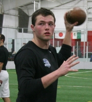 QB John Jacobs (photo courtesy DeBartolo Sports)
