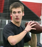 2015 QB Chase Sparks (photo courtesy DeBartolo Sports)