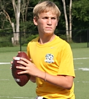 2019 QB Will Kuehne (photo courtesy of DeBartolo Sports)