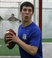 QB Caden Walters (photo courtesy DeBartolo Sports)