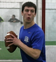 QB Caden Walters (photo courtesy DeBartolo Sports)