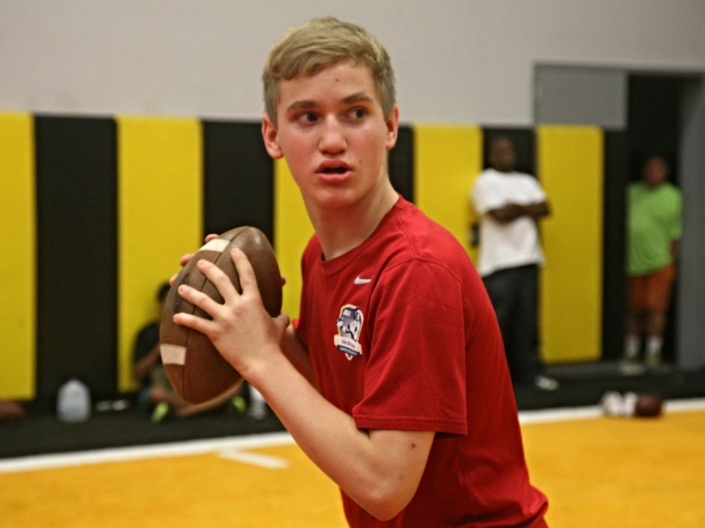 2019 Quarterback Will Kuehne selected to U-15 US National Team (Photo courtesy of DeBartolo Sports).