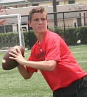 Class of 2018 QB Carlton Potter (photo courtesy of DeBartolo Sports)