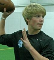 Class of 2017 QB Brandon Marquardt (Photo courtesy of DeBartolo Sports)
