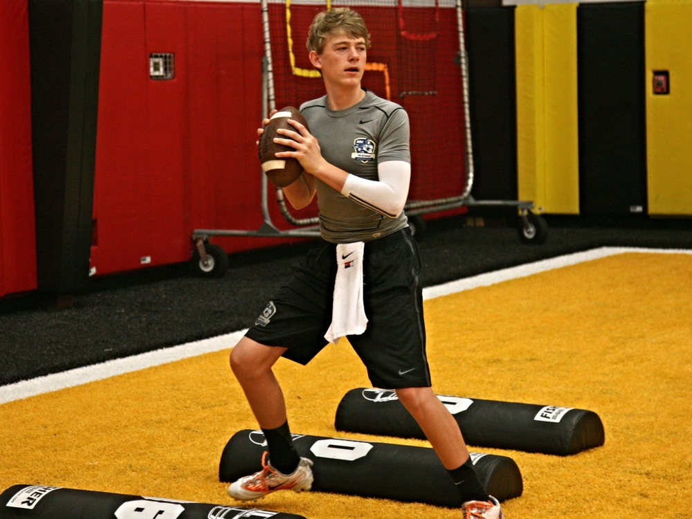 Class of 2017 QB Mac Jones, University of Kentucky Commit (Photo courtesy of DeBartolo Sports)