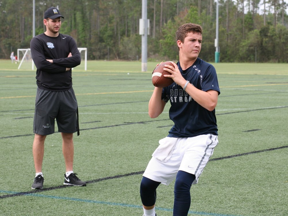 2018 Durant QB Carlton Potter (Photo credit DeBartolo Sports)