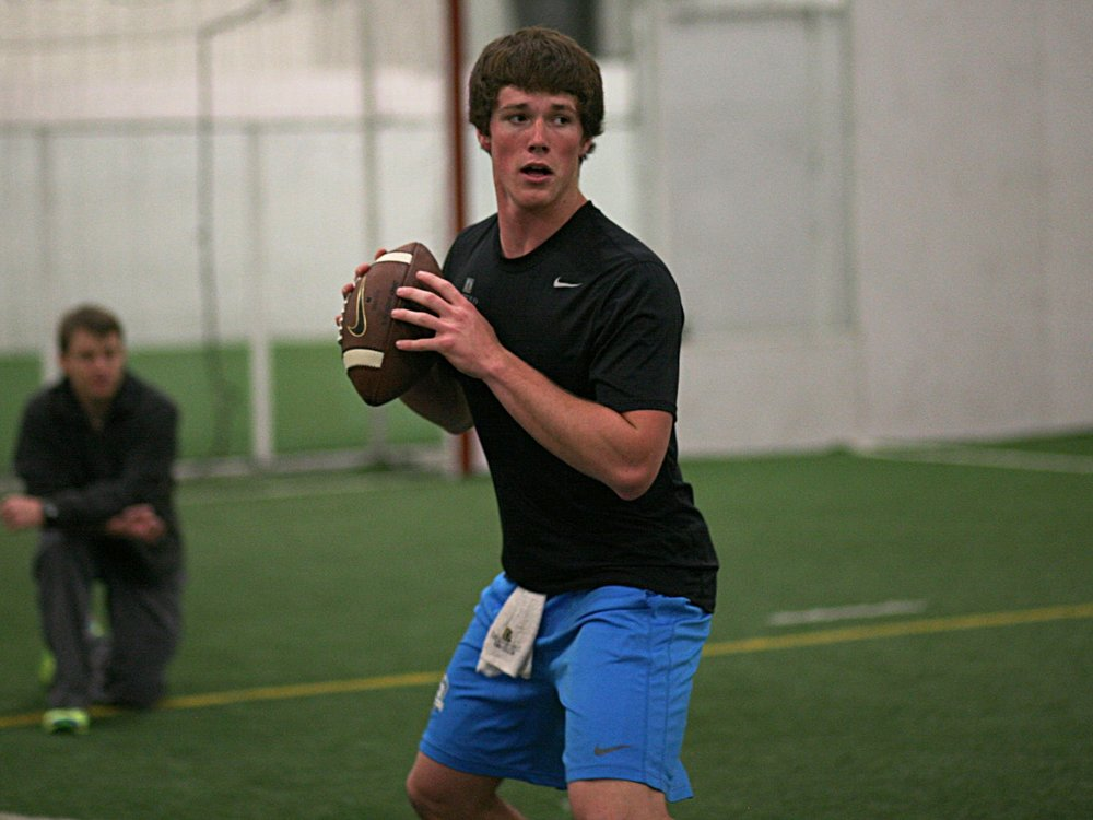 2017 QB Matt Harman (Photo credit DeBartolo Sports)