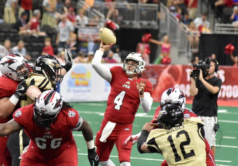 Quarterback Ryan Walker (Jacksonville Sharks)