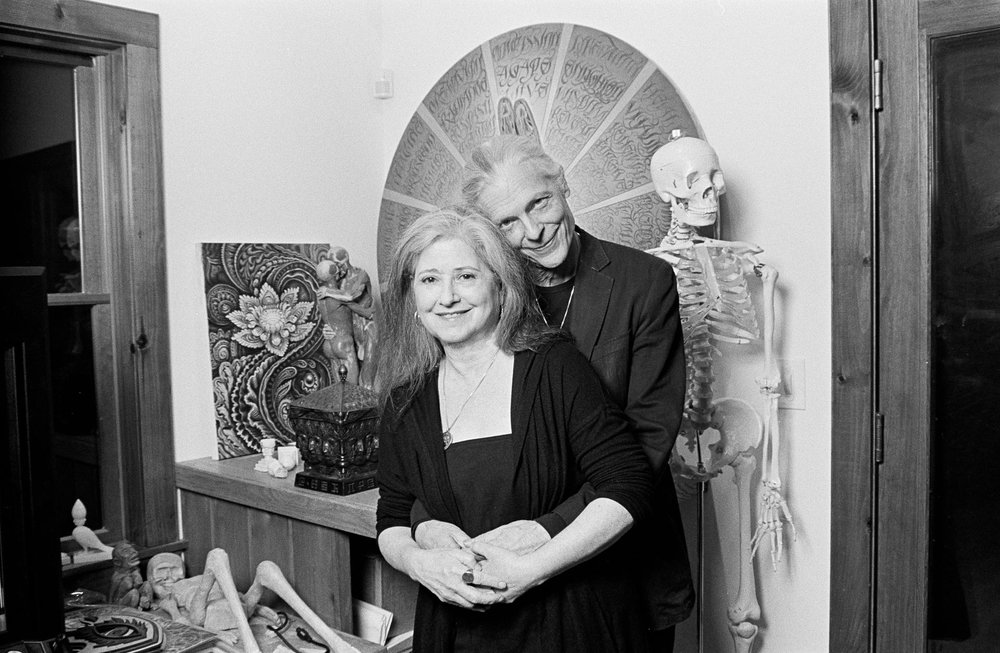 Allyson and Alex Grey  - Visionary Artists -  Rose Quartz