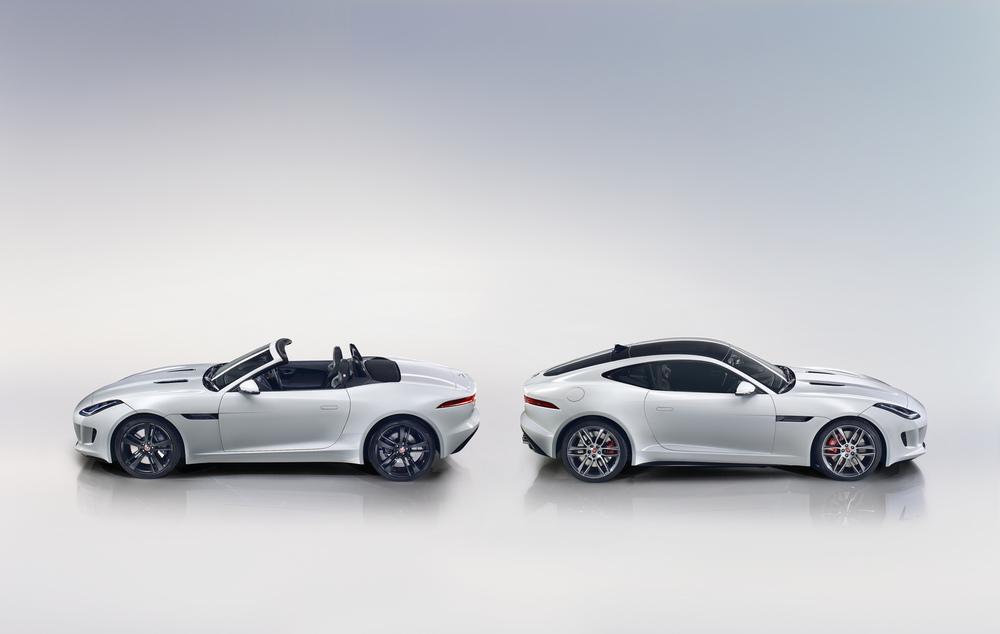 Jaguar F-type convertible and coupé © CarbonOctane