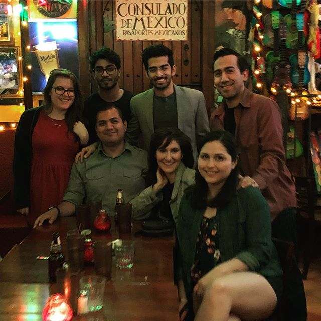 Cinco de mayo with my roommate and his top class friends. Also, welcome to New York @shubhamlahan! #nyc #manhattan #cincodemayo