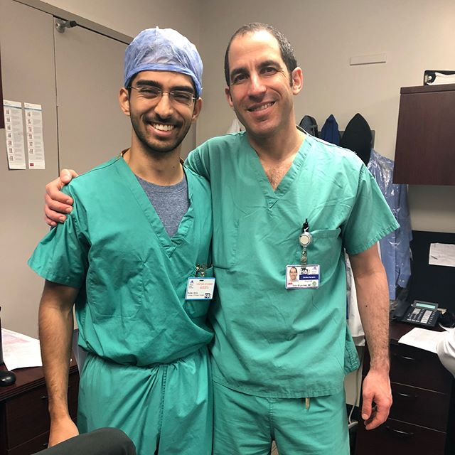 Incredibly thankful to the residents and fellows who made my 2 months in cardiothoracic surgery so memorable. #Manhattan #ctsurgery #mtsinai #surgerylife
