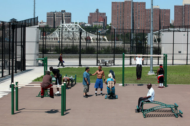 'Adult' Playgrounds