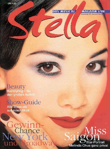 Stella Musicals Magazine, Premiere Issue