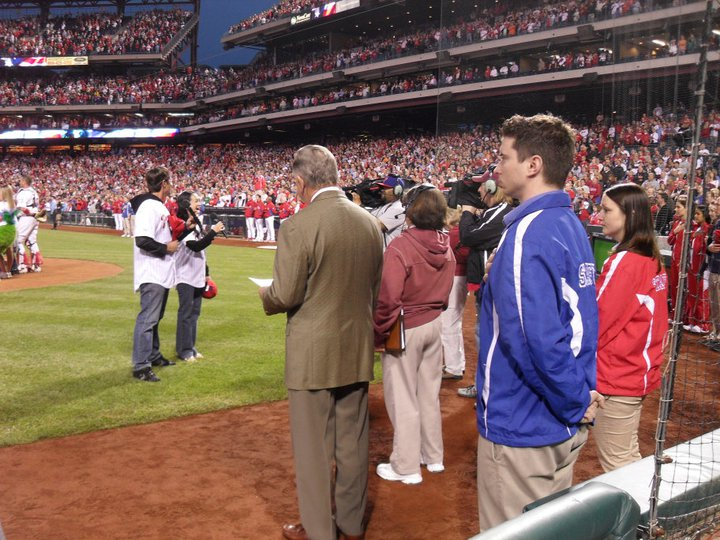 National Anthem, Phillies vs. Mets