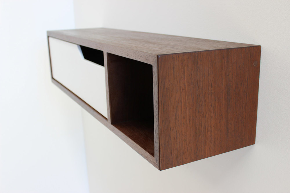 Mid Century Modern Floating Console, Entry Table, Side Table U2014 Imago  Furniture