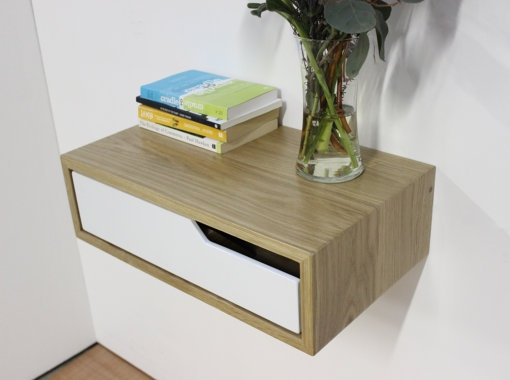 amazon with com nightstand and white handmade buoy drawer floating wall bedside table mounted dp