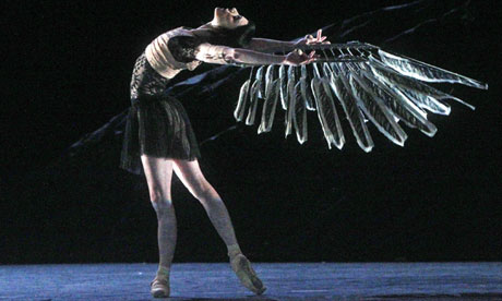 Sarah Lamb in Raven Girl. Photograph: Marilyn Kingwill