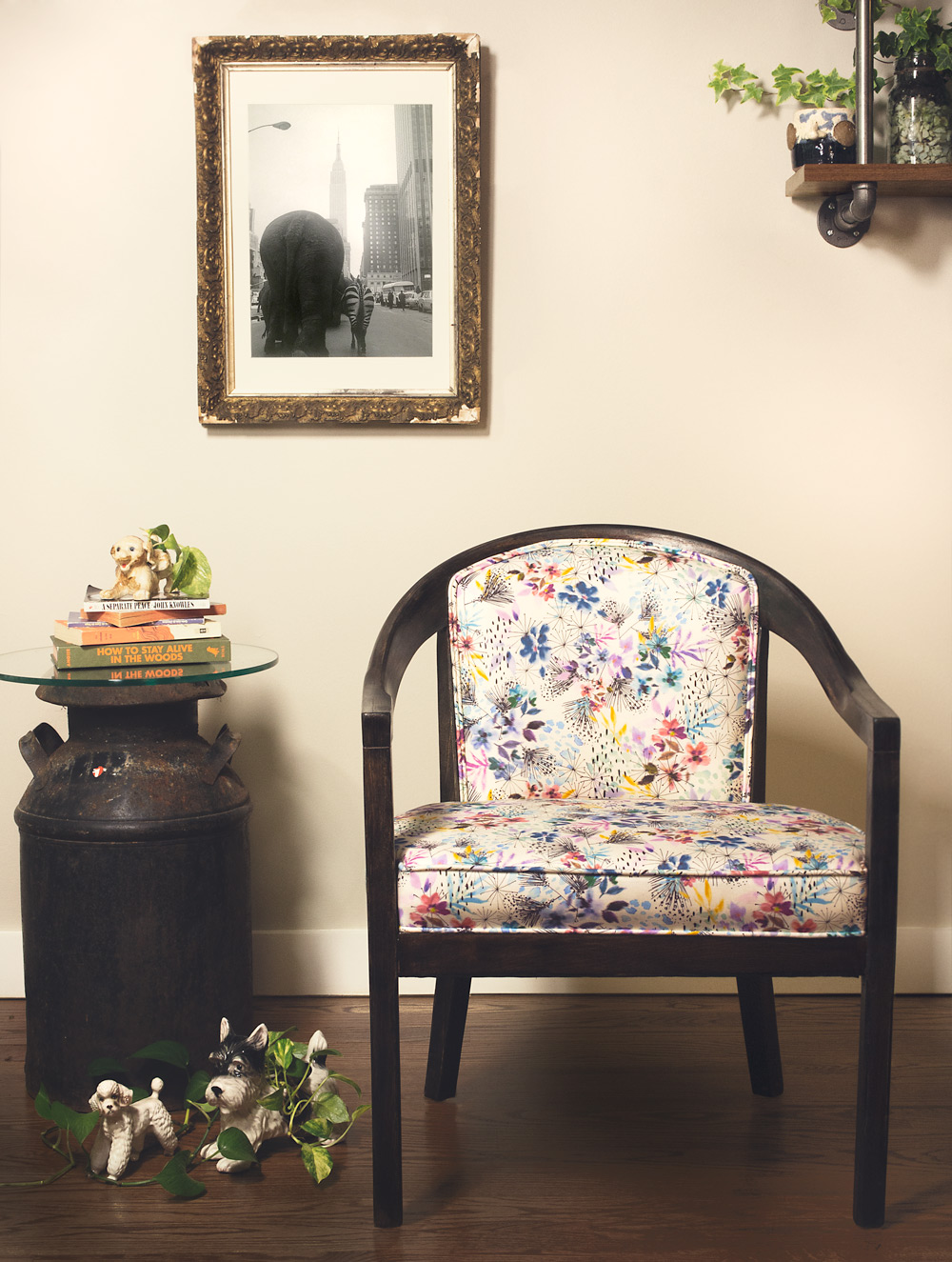 lillianfarag - whimsy floral chair