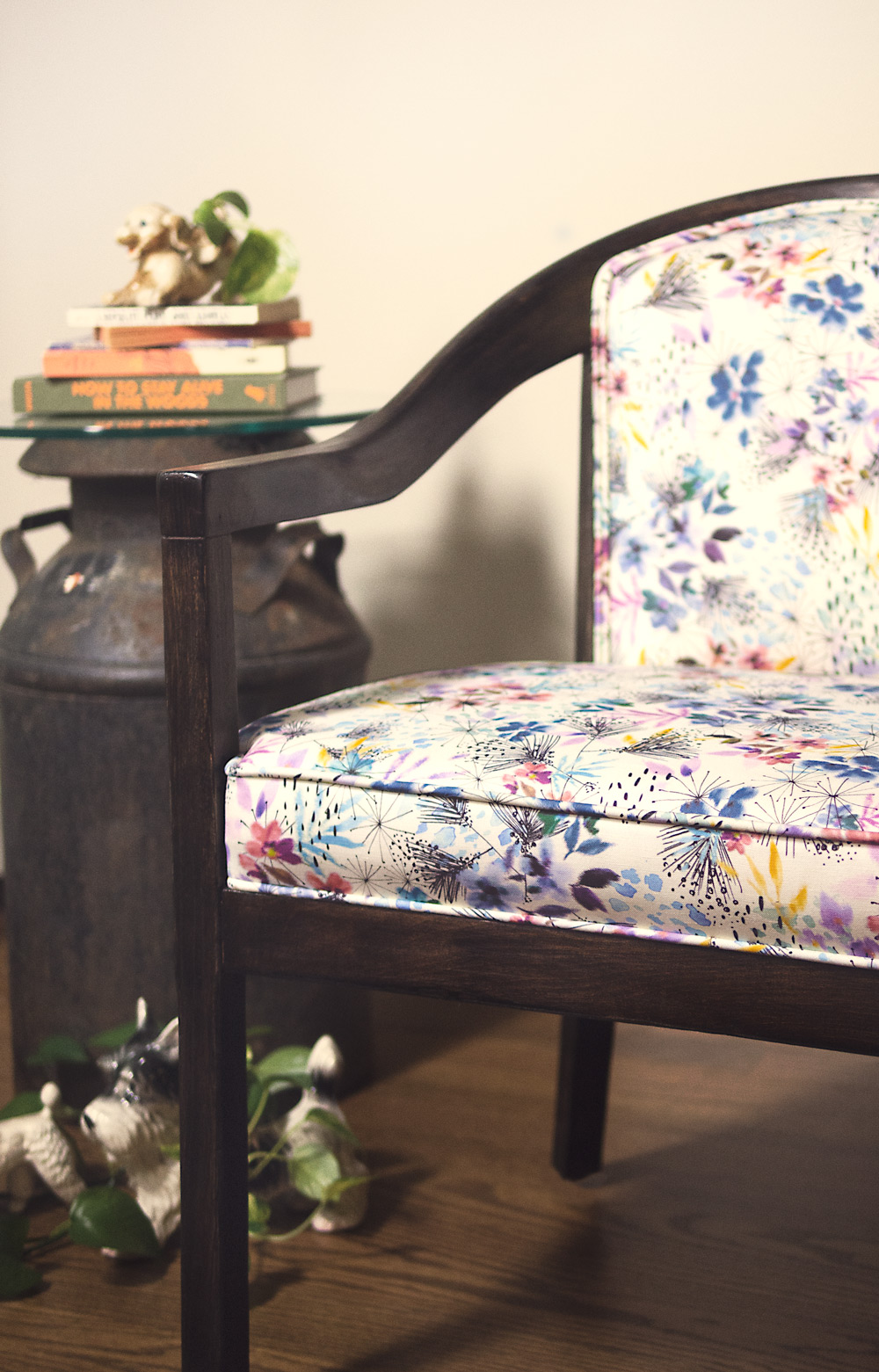 lillian farag - whimsy floral chair