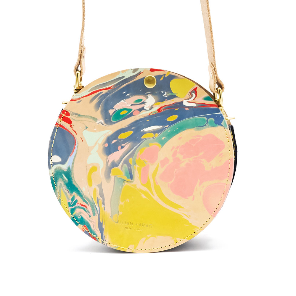 Marble Circle Bags